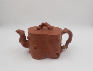 Plum Trunk Yixing Teapot