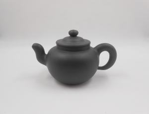 Dark Green Round teapot