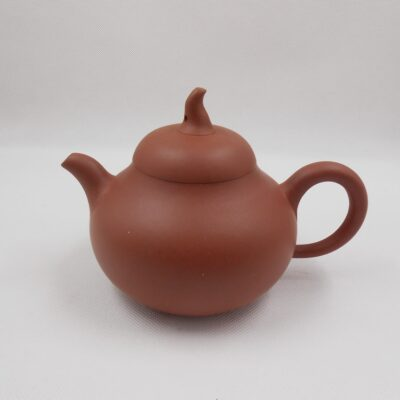 Gourd purple red clay teapot
