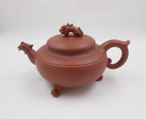 Tripedal Purple clay Yixing Teapot