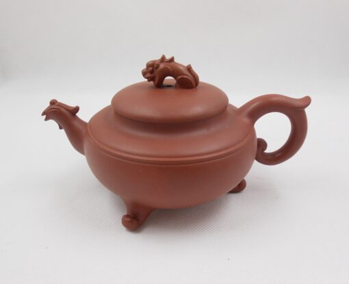 Tripedal Purple clay Yixing Teapot