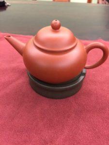Small Zhuni Teapot 大红袍朱泥小水平壶