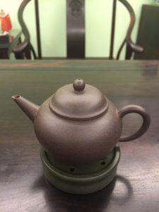 Small Dark Purple Clay Yixing Teapot