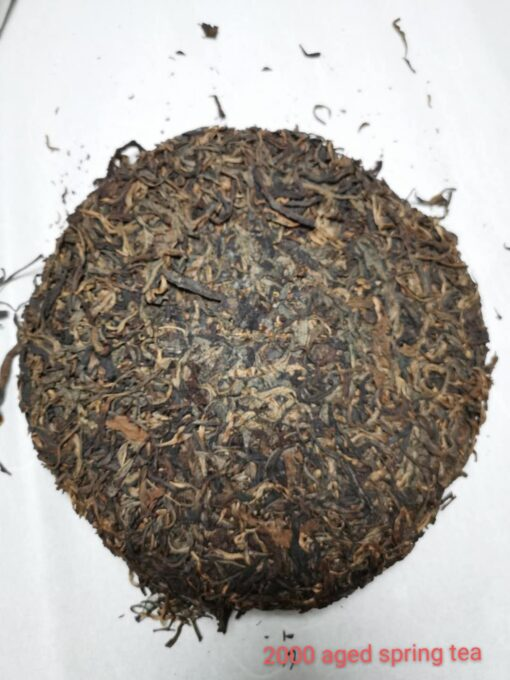 Aged Raw Pu erh Tea Year 2000