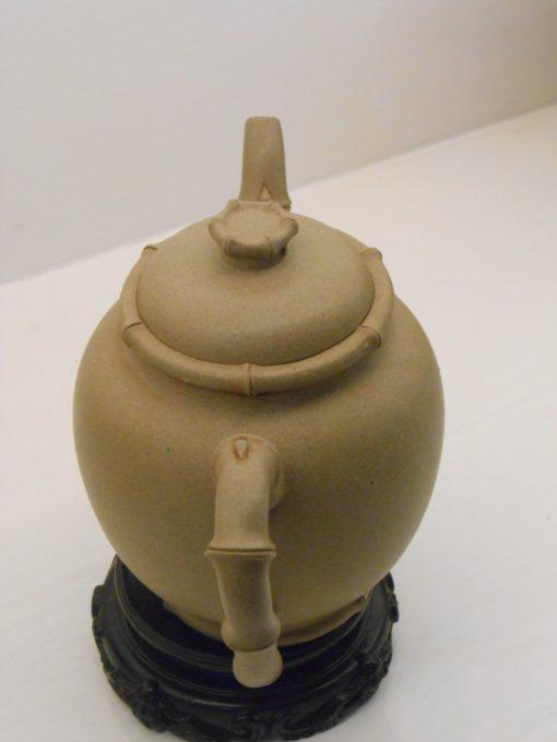 Bamboo teapot 竹子高圆壶