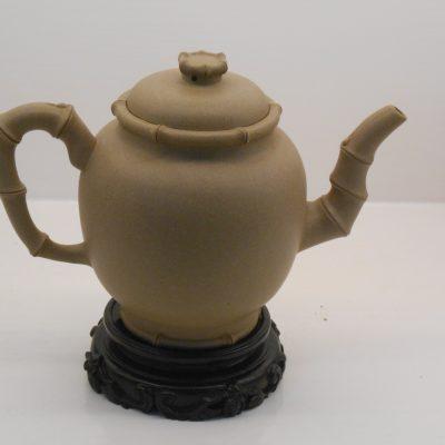 Bamboo Yixing teapot