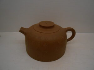 Duanni clay Chrysanthemum double hole teapot
