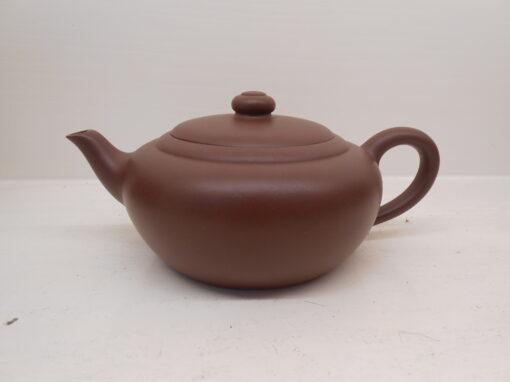 Purple Clay Round Yixing Teapot