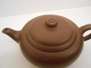 Purple Clay Round Yixing Teapot